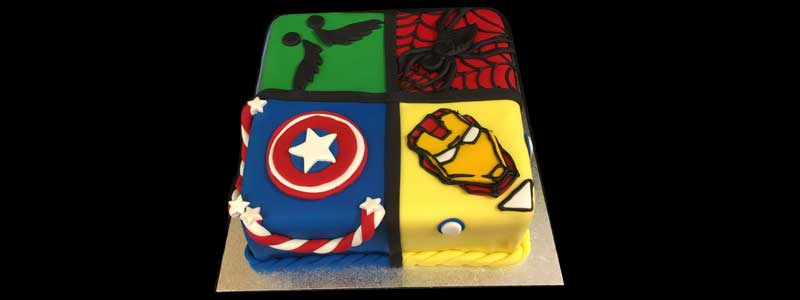 The Marvel Cake