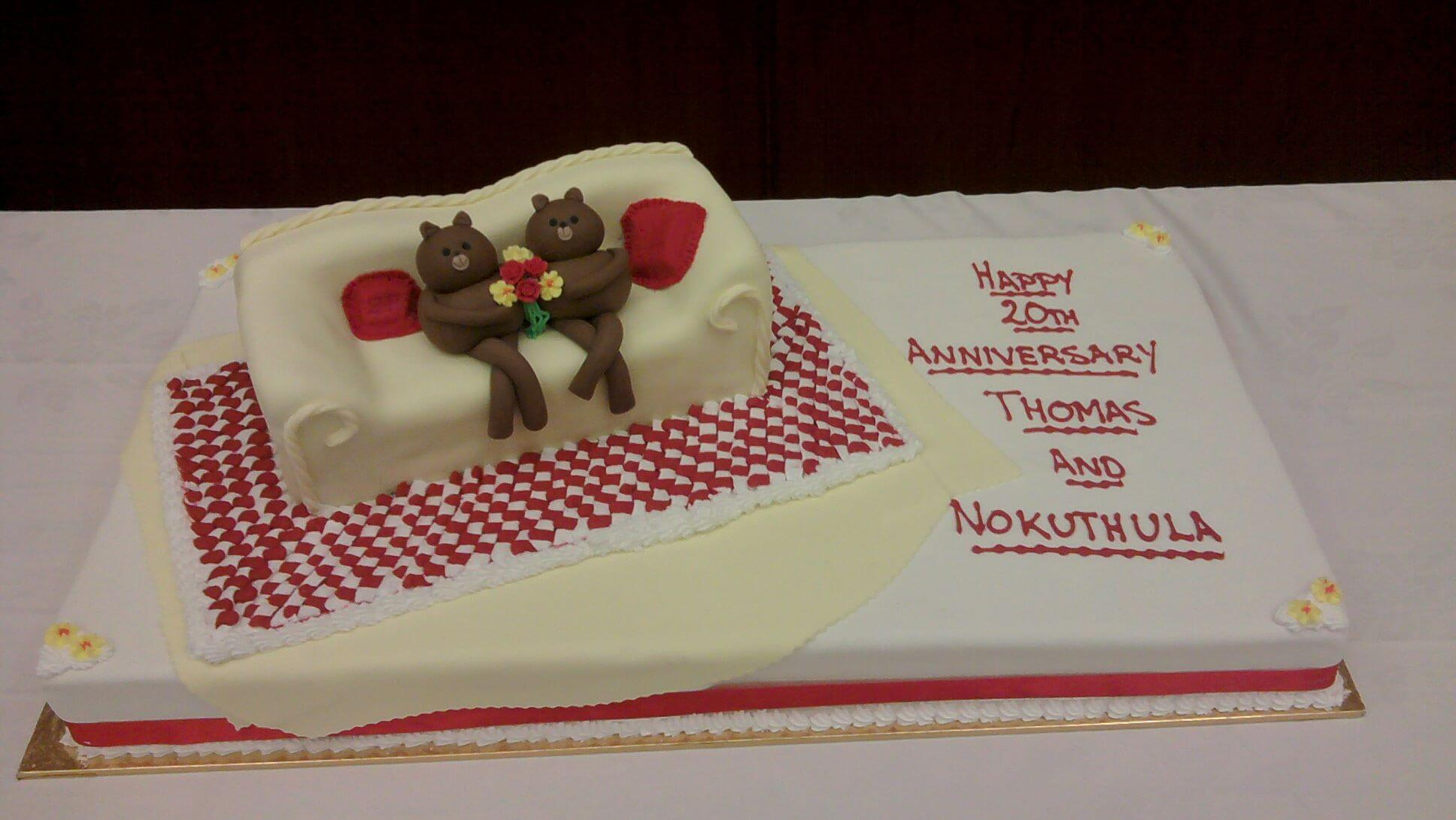 celebration anniversary cake