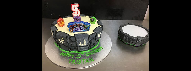 Skylanders Cake of the month