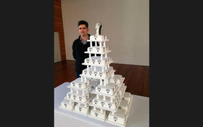 24 Tier Wedding Cake